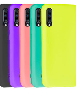 Carcasa Ultra Resistente TPU de Colores para Samsung series A