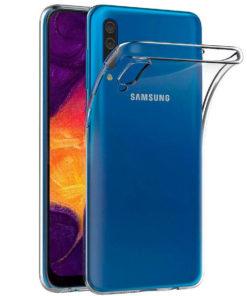 Carcasa TPU Transparente para Samsung series A50