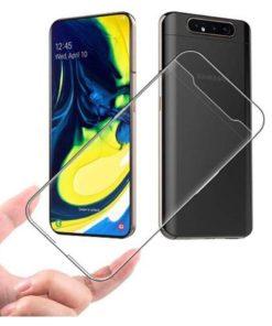 Carcasa TPU Transparente para Samsung series A80