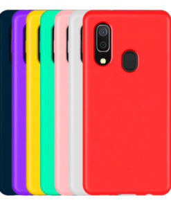 Carcasa TPU de Colores para Samsung series A80 Carcasa TPU de Colores para Samsung series A Carcasa TPU de Colores para Samsung series A